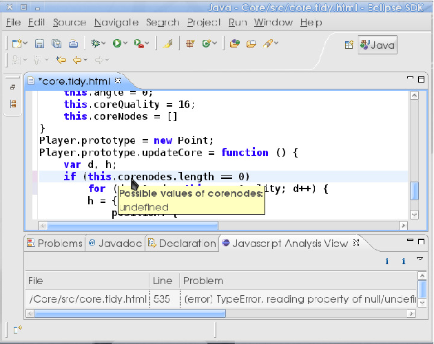 Figure 1 from Improving Tools for JavaScript Programmers