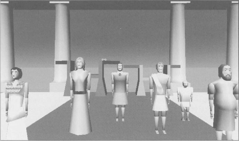Fig. 1.2. VRML Dream: Live Performance on the Internet