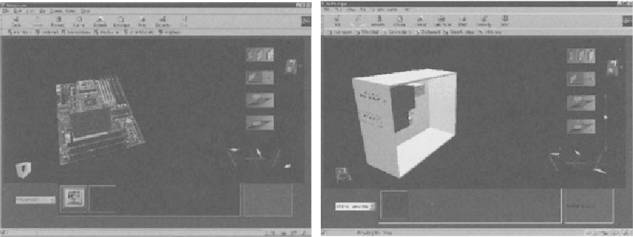 Fig. 1.3. A 3D Personal Computer Gonfiguration Tool on the Web