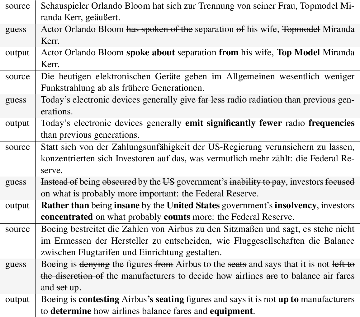 Figure 3 for QuickEdit: Editing Text & Translations by Crossing Words Out