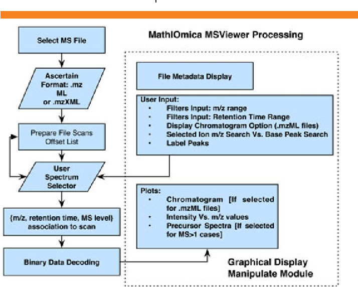 MathIOmica‐MSViewer: a dynamic viewer for mass spectrometry files