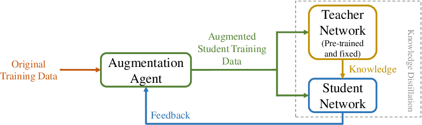 Figure 2 for Role-Wise Data Augmentation for Knowledge Distillation