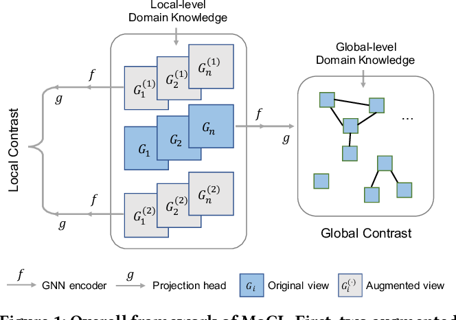 Figure 1 for MoCL: Contrastive Learning on Molecular Graphs with Multi-level Domain Knowledge