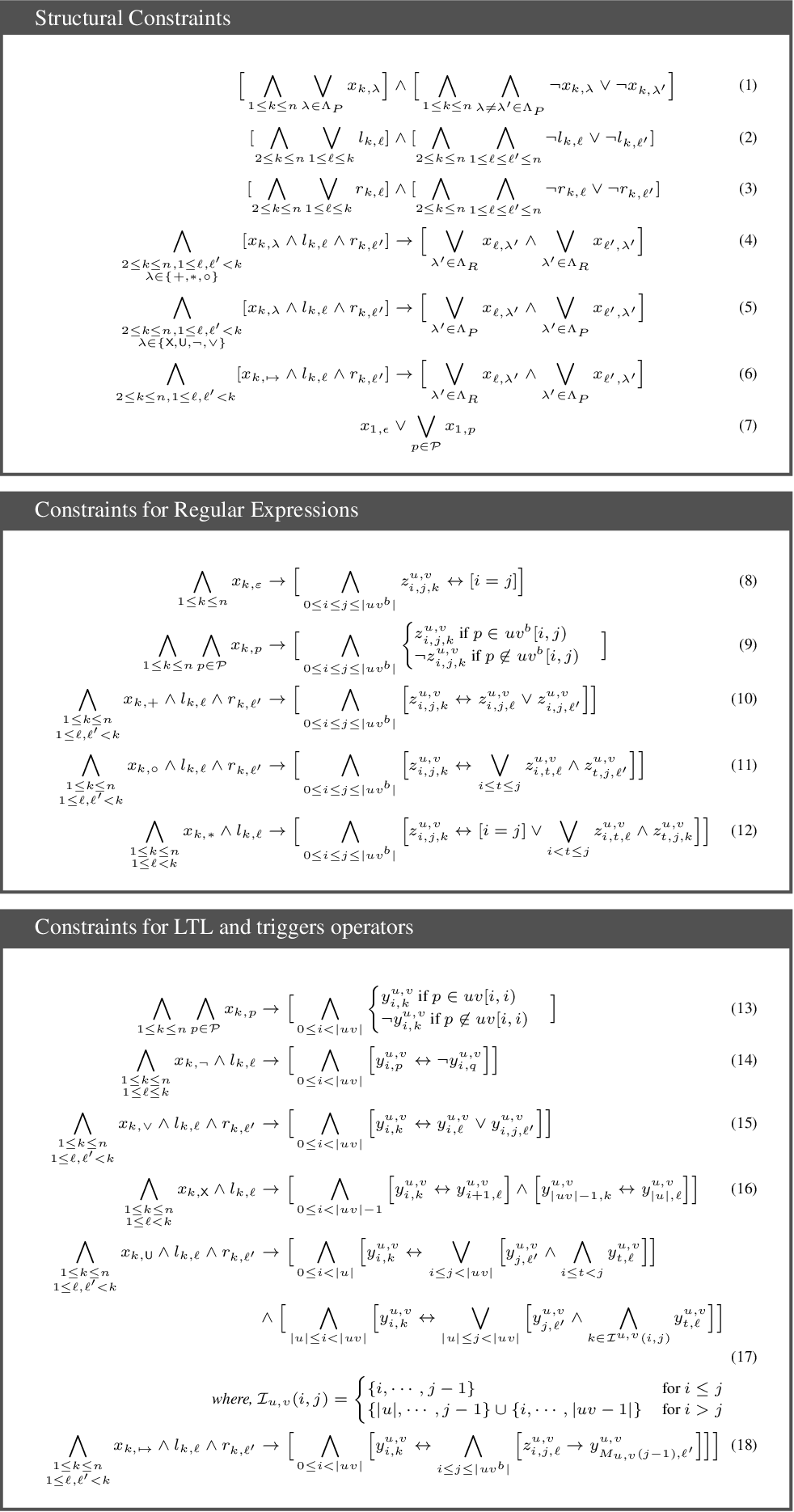 Figure 4 for Learning Interpretable Models in the Property Specification Language