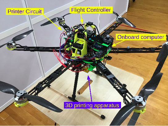 Figure 2 for A 3D Printing Hexacopter: Design and Demonstration