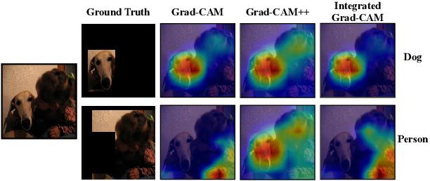 Figure 1 for Integrated Grad-CAM: Sensitivity-Aware Visual Explanation of Deep Convolutional Networks via Integrated Gradient-Based Scoring