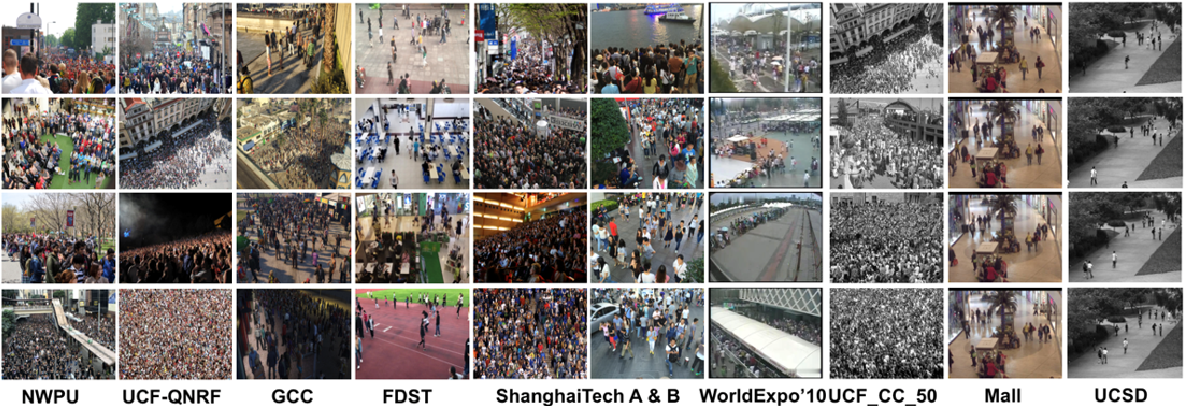 Figure 4 for CNN-based Single Image Crowd Counting: Network Design, Loss Function and Supervisory Signal