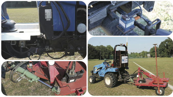 Figure 1 for Experimental Validation of Linear and Nonlinear MPC on an Articulated Unmanned Ground Vehicle