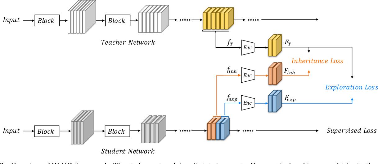 Figure 3 for Revisiting Knowledge Distillation: An Inheritance and Exploration Framework