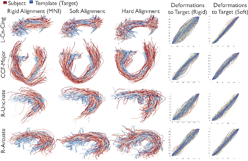 Figure 3 for Alignment of Tractography Streamlines using Deformation Transfer via Parallel Transport