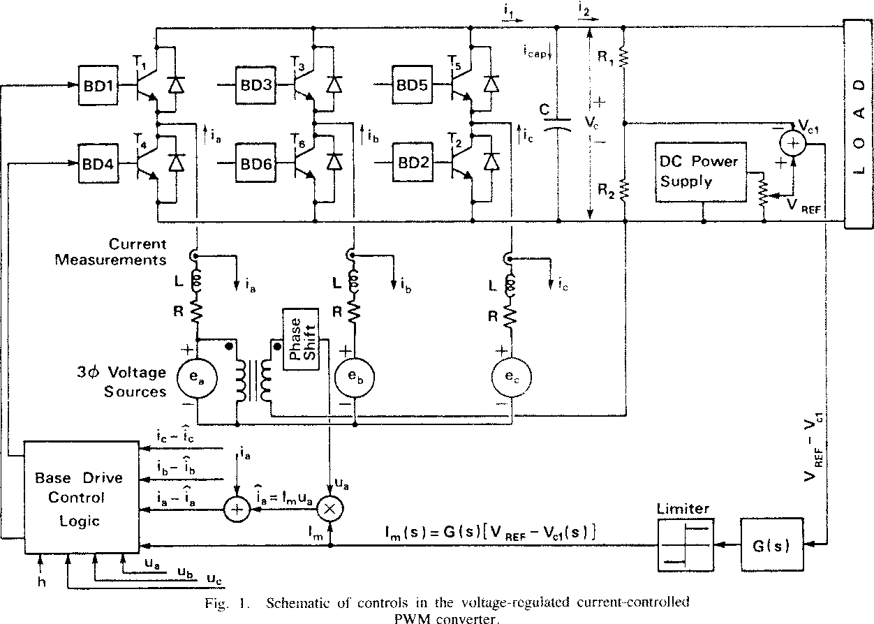 Pwm Converter Voltagecontrolled Buck Converters By Using A Passive Prefilter Transient Tests On Voltage Regulated Controlled Current 1252x894
