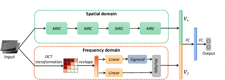 Figure 1 for Change Detection in Synthetic Aperture Radar Images Using a Dual-Domain Network