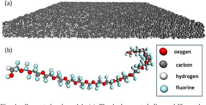 Atomistic Molecular Dynamics Study of Structural and