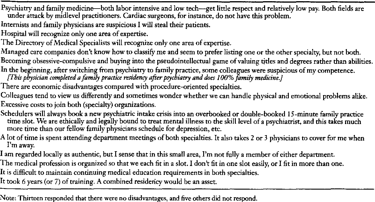 PDF] Physicians who are certified in family practice and psychiatry