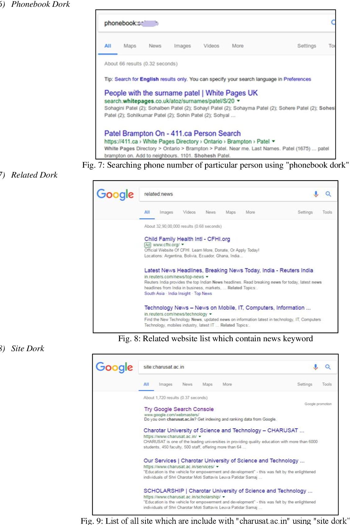 PDF] Notorious ways of exploitation search engine - Semantic Scholar