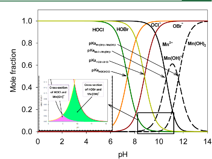 Figure 1 From Oxidation Of Manganeseii During Chlorination Role