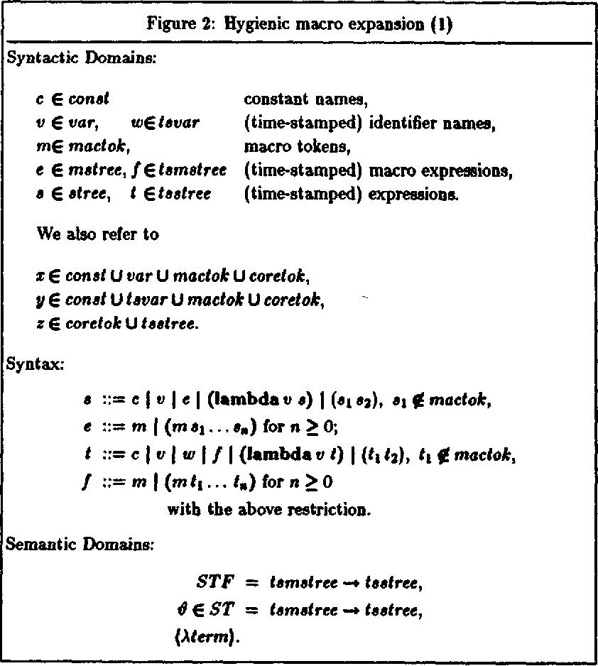 Hygienic macro - Semantic Scholar