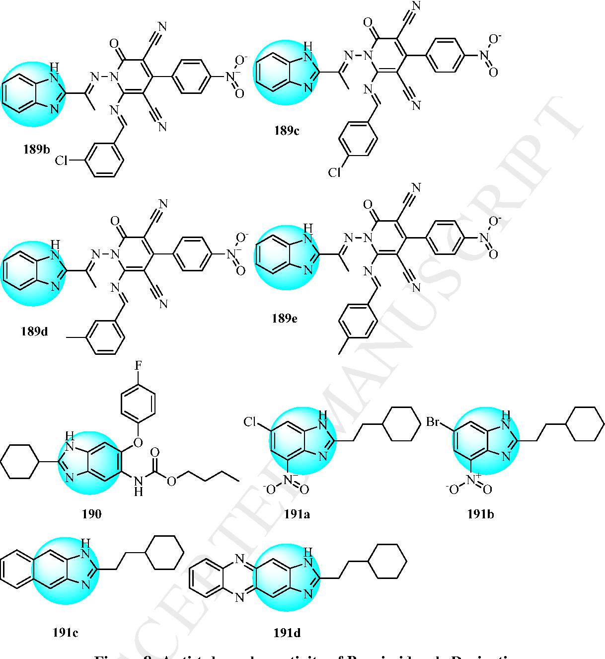 Figure 8: Anti-tubercular activity of Benzimidazole Derivatives