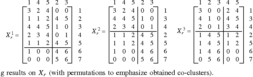 Co Clustering Numerical Data Under User Defined Constraints