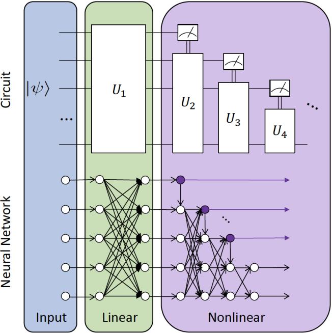 Figure 1 for Universal discriminative quantum neural networks