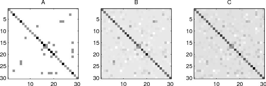 Figure 4 for Model Selection Through Sparse Maximum Likelihood Estimation