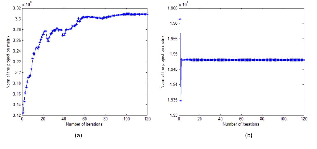Figure 2 for 2DR1-PCA and 2DL1-PCA: two variant 2DPCA algorithms based on none L2 norm