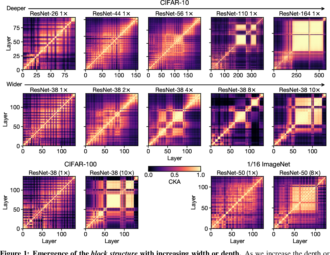 Figure 1 for Do Wide and Deep Networks Learn the Same Things? Uncovering How Neural Network Representations Vary with Width and Depth