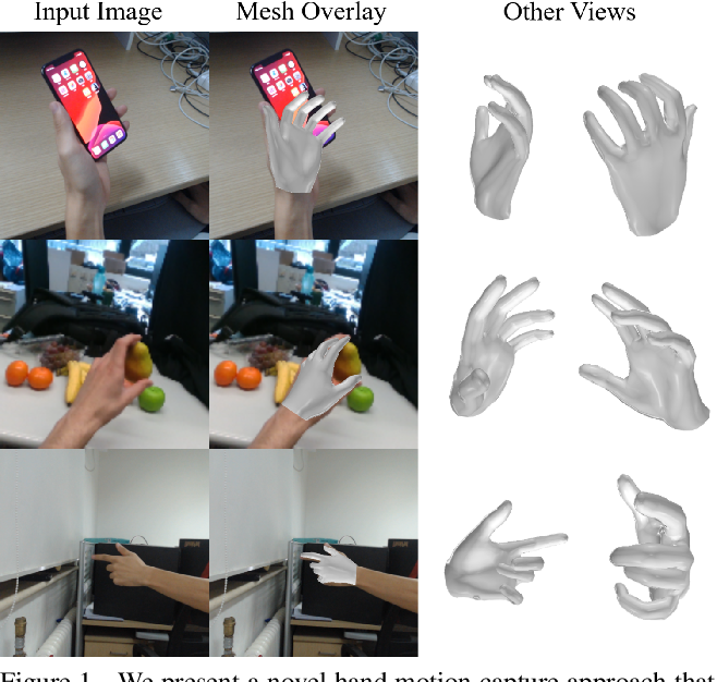 Figure 1 for Monocular Real-time Hand Shape and Motion Capture using Multi-modal Data