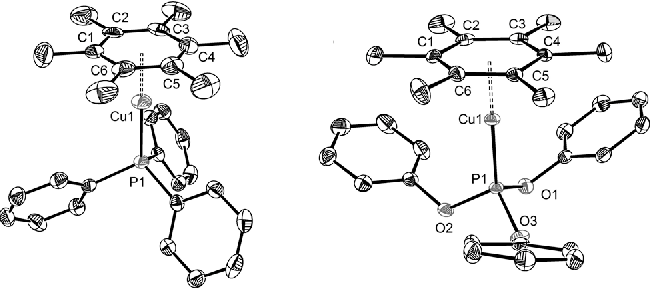 Figure 2 From A Copperi Arene Complex With An Unsupported 6
