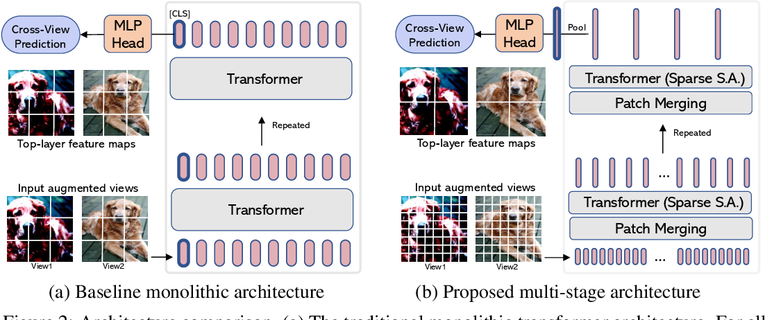 Figure 3 for Efficient Self-supervised Vision Transformers for Representation Learning