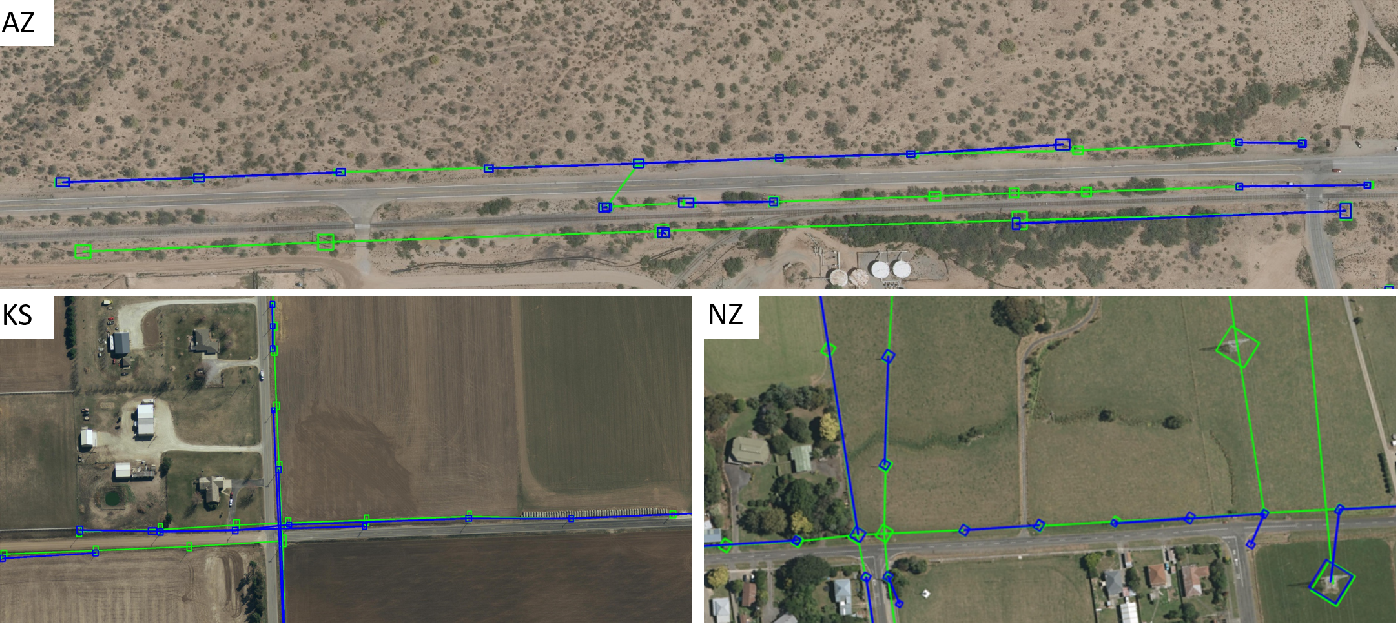 Figure 2 for GridTracer: Automatic Mapping of Power Grids using Deep Learning and Overhead Imagery
