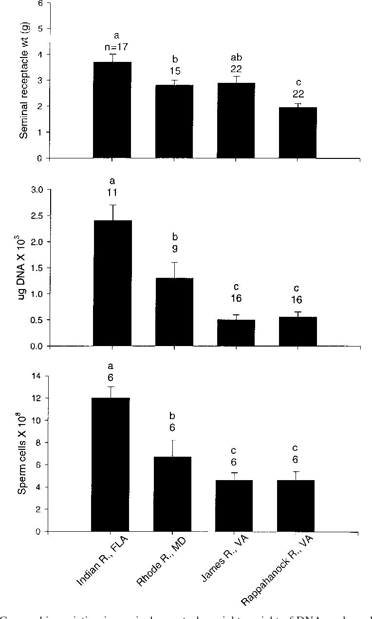 EVIDENCE FOR SPERM LIMITATION IN THE BLUE CRAB, CALLINECTES SAPIDUS -  Semantic Scholar