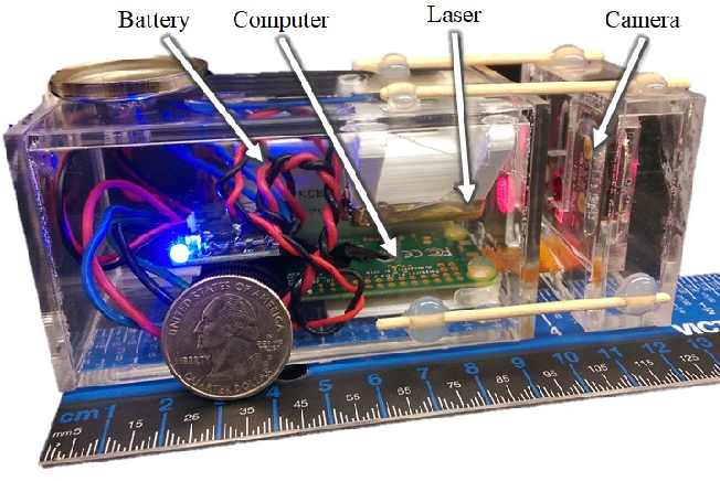 Figure 3 for Design and Experiments with a Robot-Driven Underwater Holographic Microscope for Low-Cost In Situ Particle Measurements