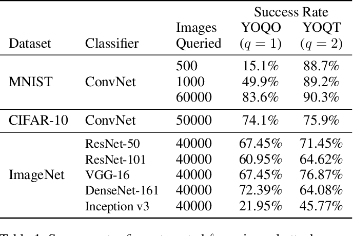 Figure 1 for You Only Query Once: Effective Black Box Adversarial Attacks with Minimal Repeated Queries