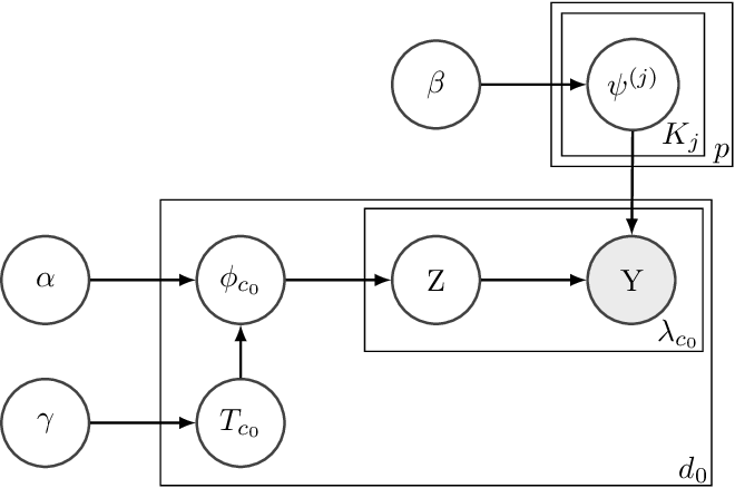 Figure 2 for Conditional Hierarchical Bayesian Tucker Decomposition