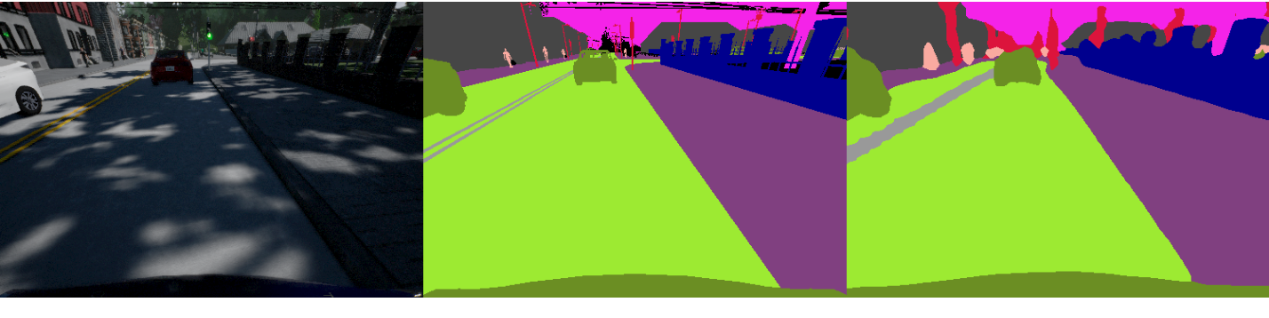 Figure 1 for A Bayesian Approach to Reinforcement Learning of Vision-Based Vehicular Control