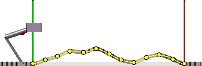 Figure 1 for Locomotion Planning through a Hybrid Bayesian Trajectory Optimization