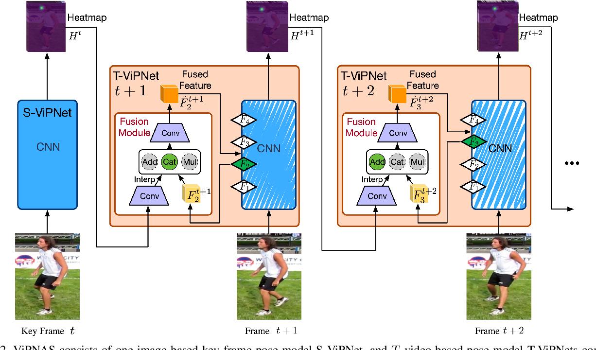 Figure 3 for ViPNAS: Efficient Video Pose Estimation via Neural Architecture Search