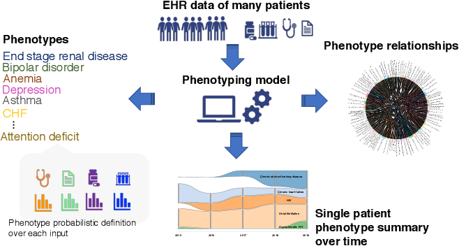 Figure 1 for Towards Patient Record Summarization Through Joint Phenotype Learning in HIV Patients