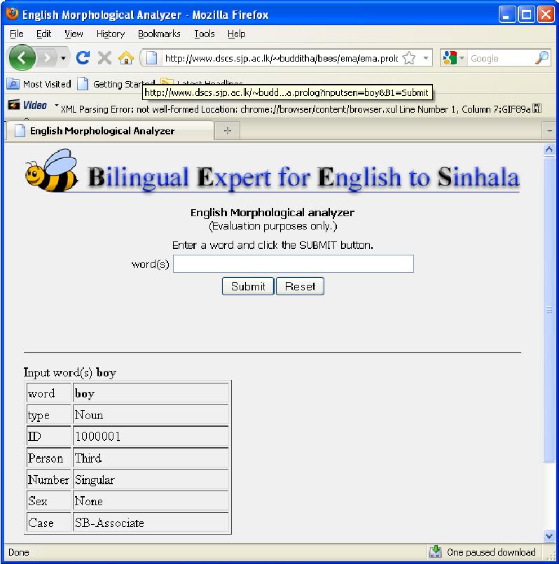 PDF] A Computational grammar of Sinhala for English-Sinhala machine