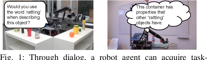 Figure 1 for Improving Grounded Natural Language Understanding through Human-Robot Dialog