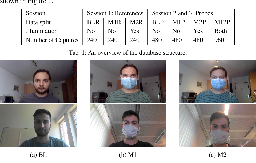 Figure 1 for The Effect of Wearing a Mask on Face Recognition Performance: an Exploratory Study