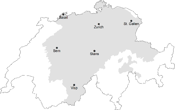 Figure 1 for A Swiss German Dictionary: Variation in Speech and Writing