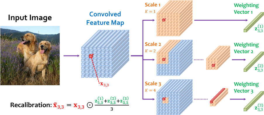 Figure 1 for Multi-Scale Spatially-Asymmetric Recalibration for Image Classification