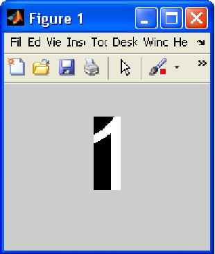 Figure 9: First Word Segmentation of first line