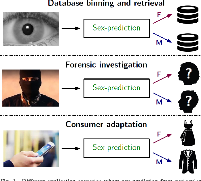 Figure 1 for Sex-Prediction from Periocular Images across Multiple Sensors and Spectra
