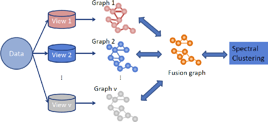Figure 1 for Multi-graph Fusion for Multi-view Spectral Clustering