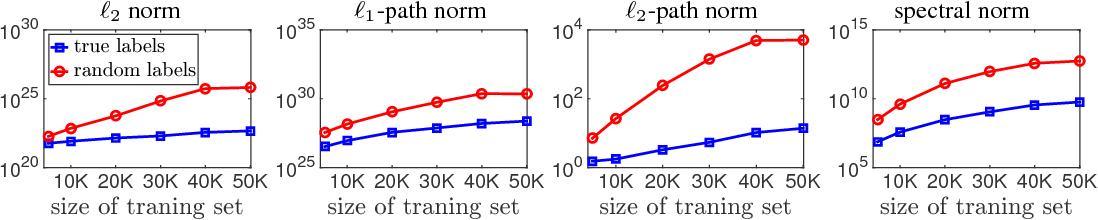 Figure 1 for Exploring Generalization in Deep Learning