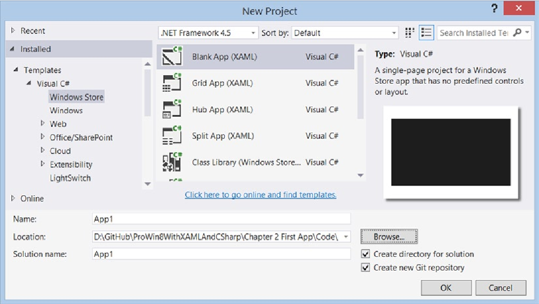 Figure 4-1 from Pro Windows 8 1 Development with XAML and C#