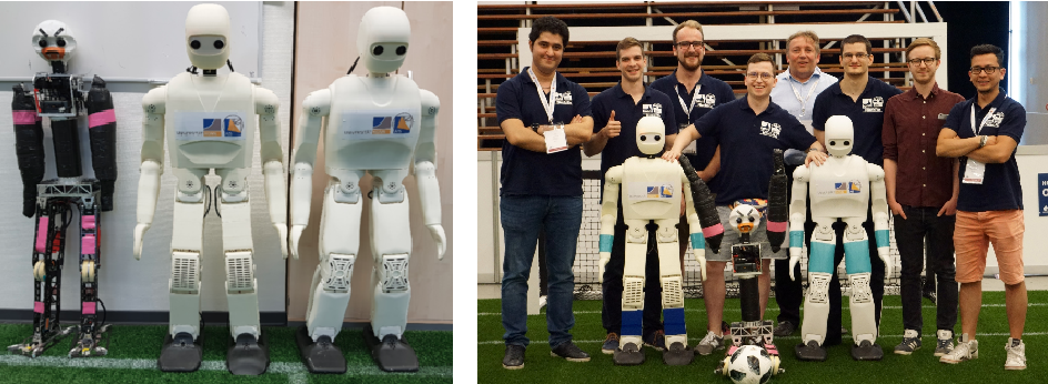 Figure 1 for NimbRo Robots Winning RoboCup 2018 Humanoid AdultSize Soccer Competitions